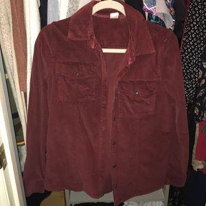 Roxy Corduroy Button-Up Shirt